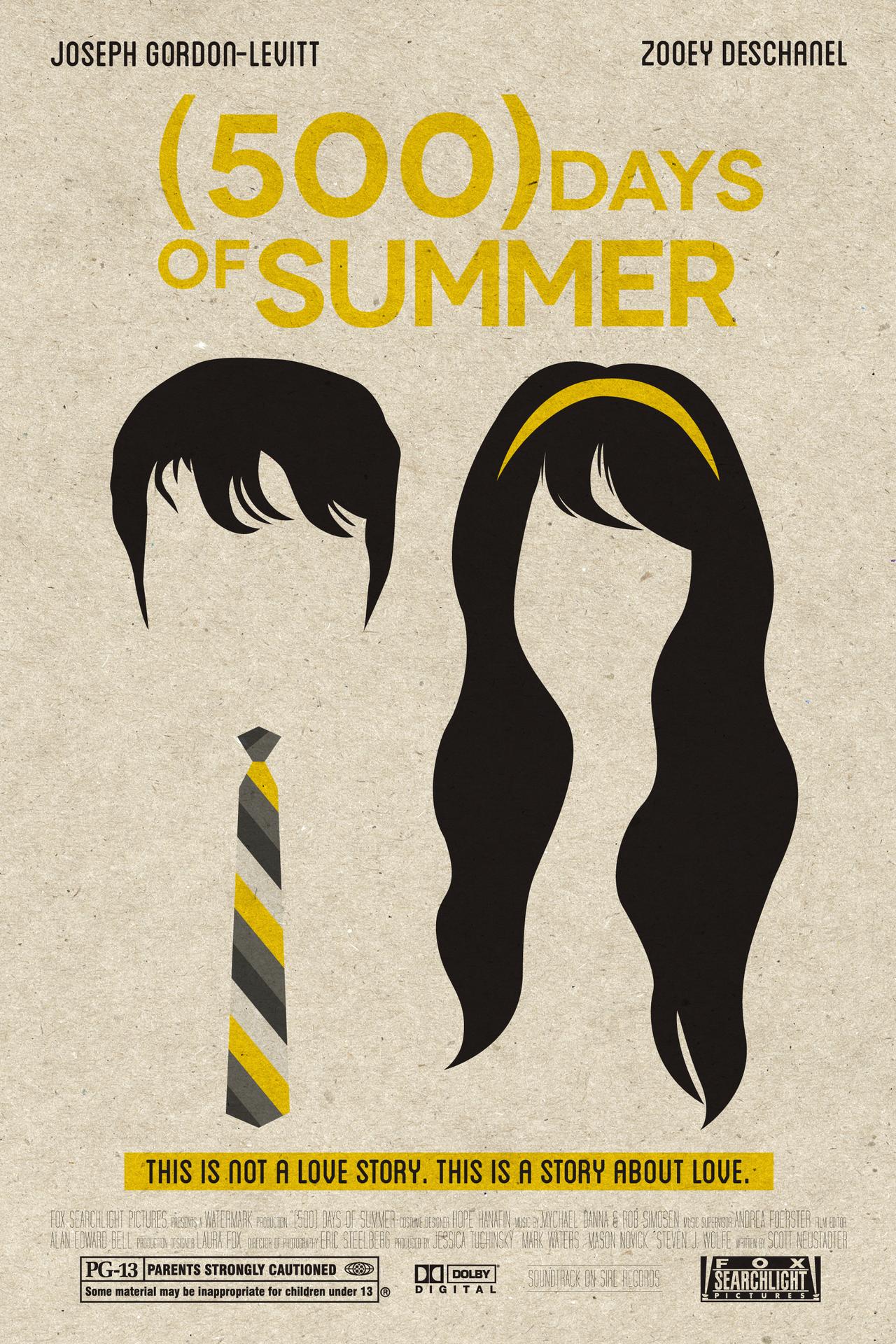 """Résultat de recherche d'images pour """"500 days of summer poster"""""""