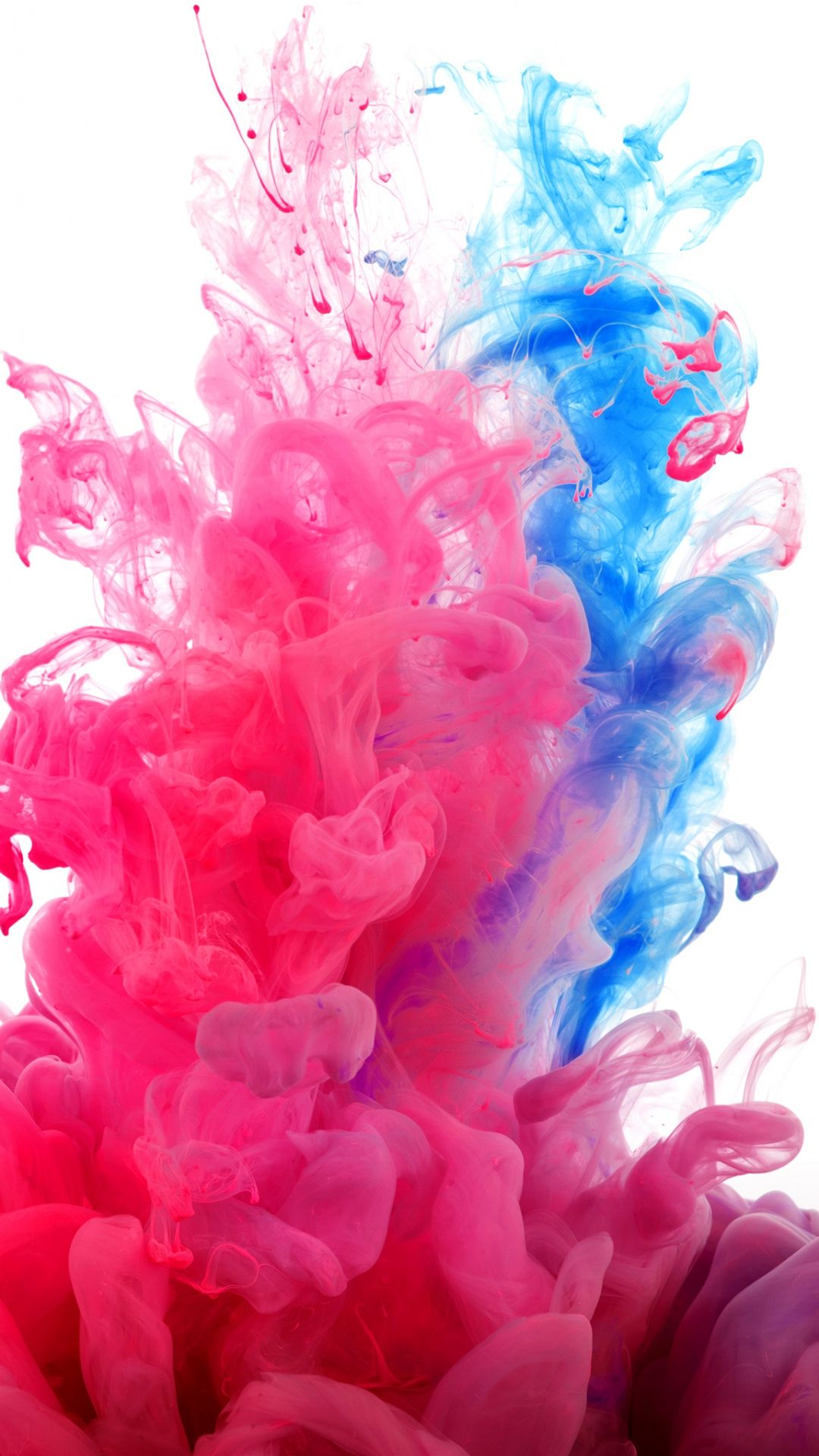 Tap And Get The Free App Abstract Red And Blue Smoke