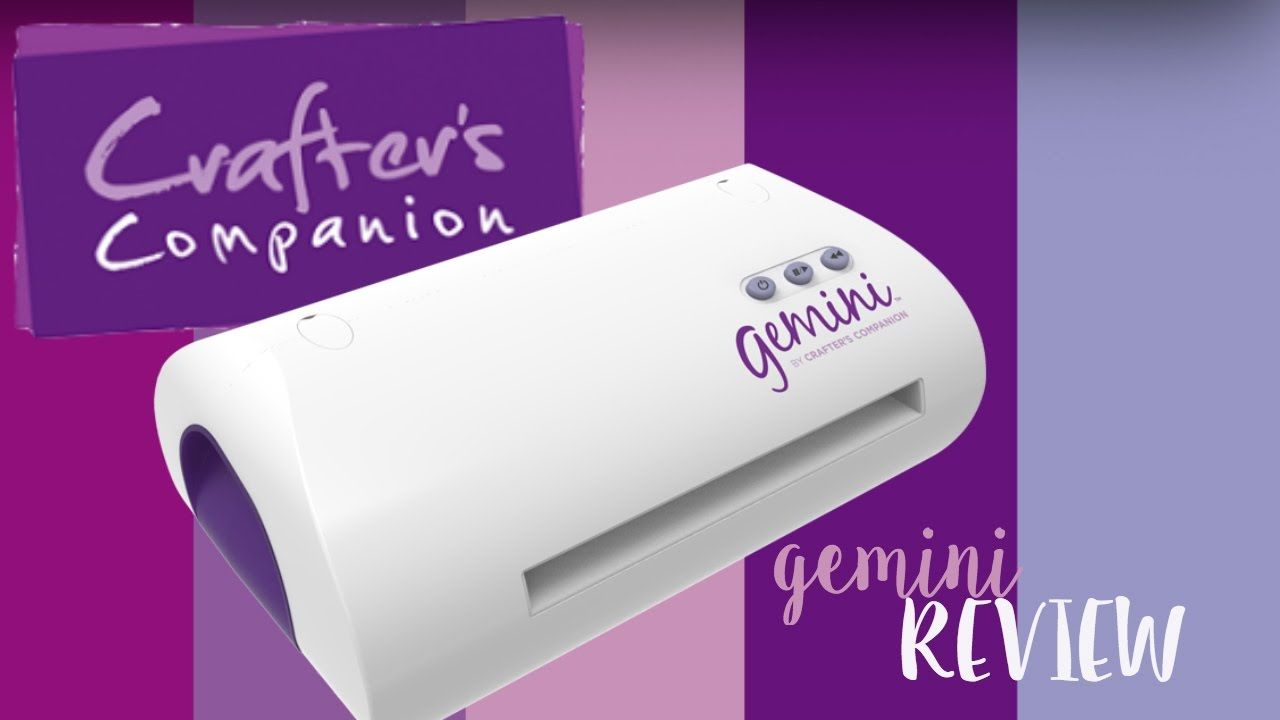 Crafters Companion Gemini Review And Instructions Crafters Companion Gemini Crafters Companion Gemini