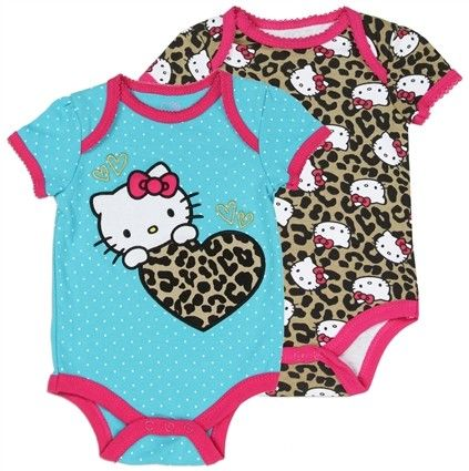 Blue Baby Set in Animal Print 3-6 M Bodysuit and Pants