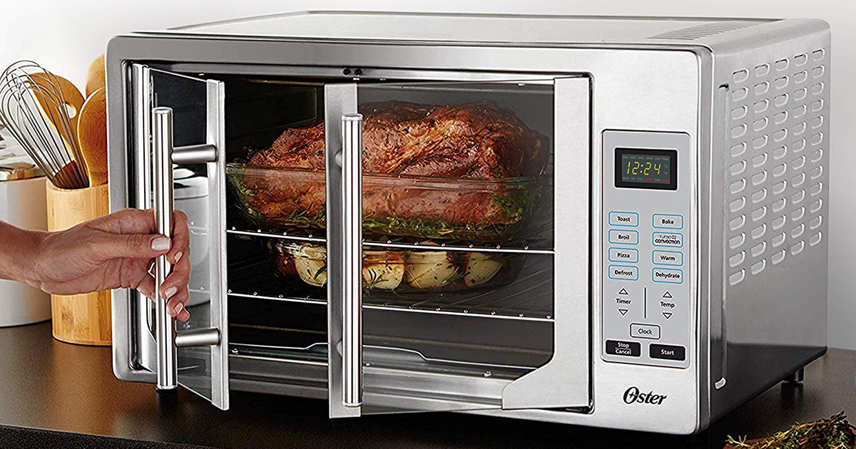 This Huge French Door Toaster Oven From Oster Is 30 Off On Amazon