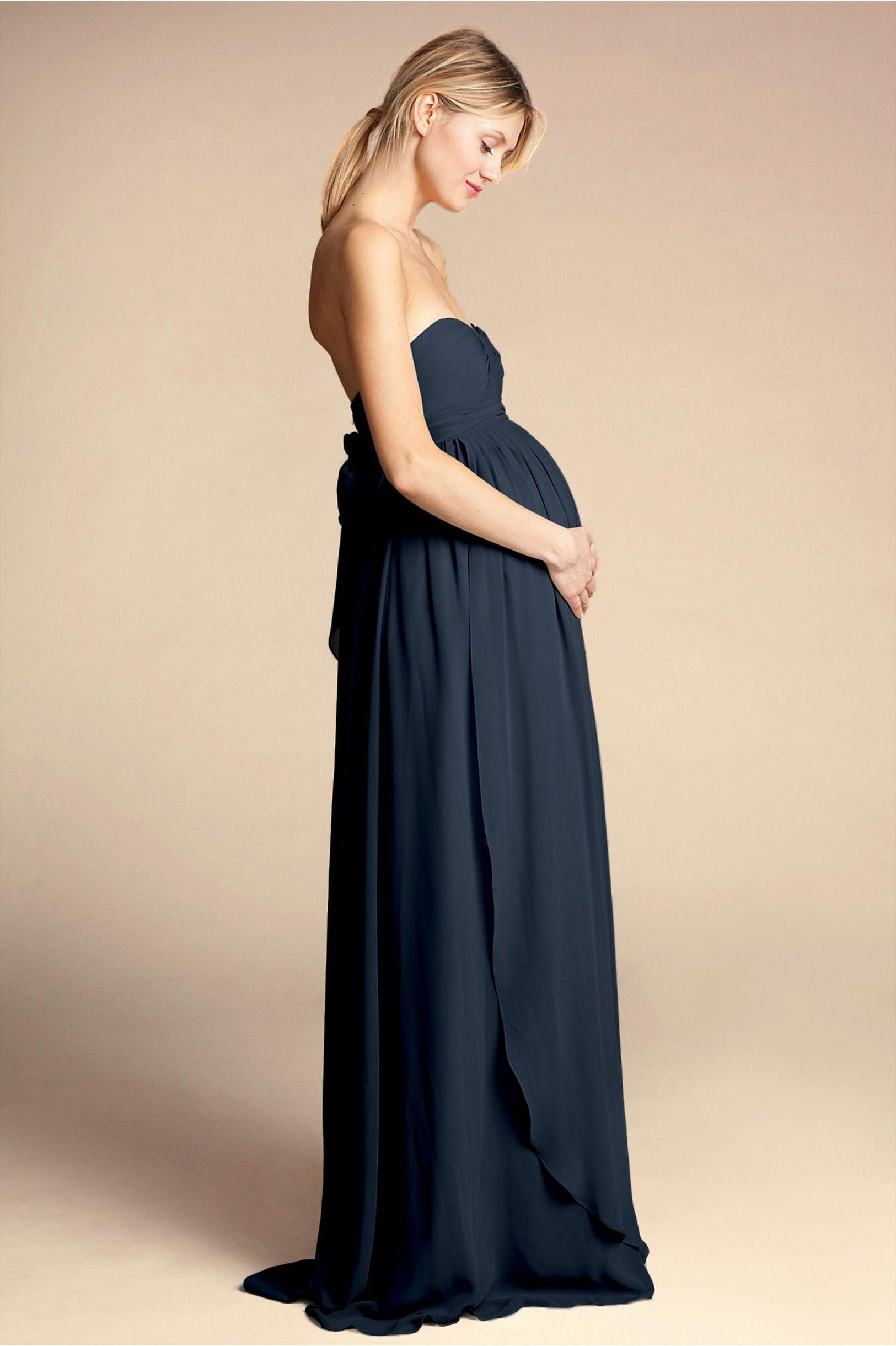 25f2f9b03f3b BHLDN's Jenny Yoo Cerise Maternity Dress in Navy. Cerise Maternity Dress  Navy in Bridesmaids ...