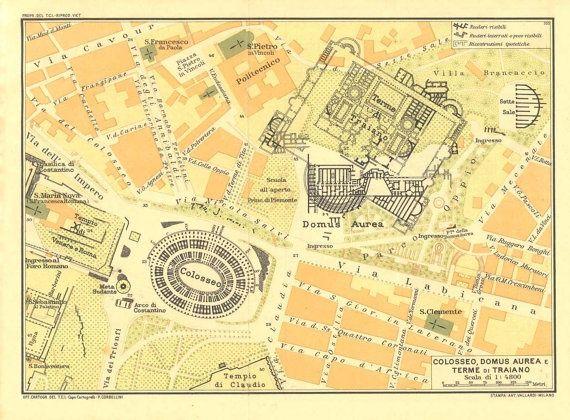 Pin By Samah Khalaf On Colosseum Pinterest Ancient Rome - Map of rome under trajan