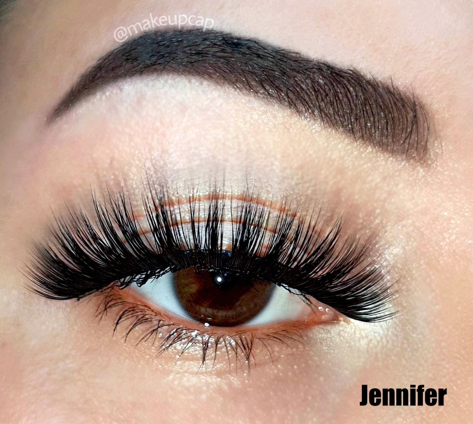 False Eyelashes That Look Natural - Jennifer