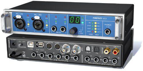 RME アールエムイー Fireface UCX 18チャンネル 24ビット/192kHz USB&FireWir... http://www.amazon.co.jp/dp/B009SKPI32/ref=cm_sw_r_pi_dp_4Srnxb0WW1E0N
