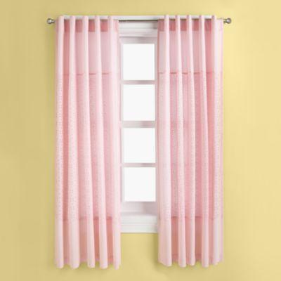 Eyelet Pink Curtain Panels I M Not One For Eyelet But