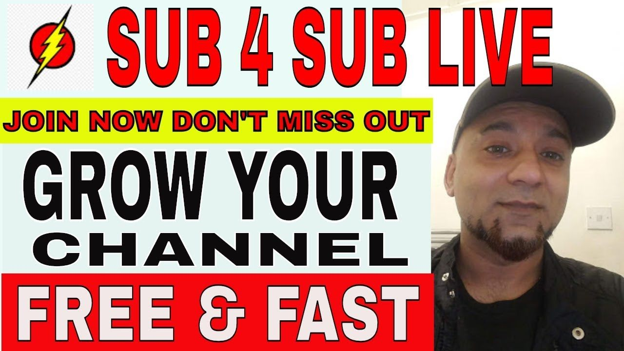 sub 4 sub - sub bot GROWTH HACK YOUTUBE Live Stream how to grow your