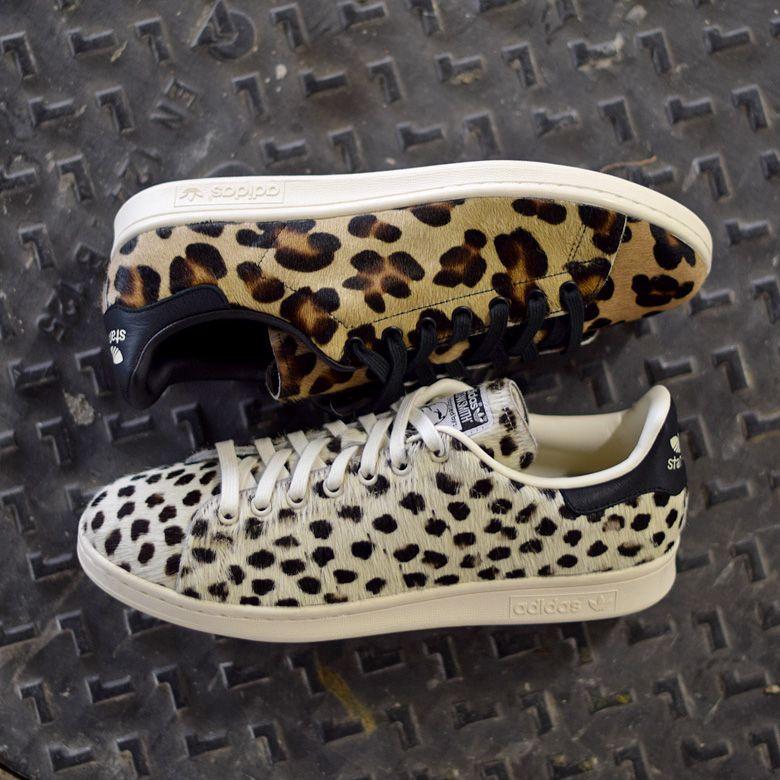 adidas Stan Smith Animal Print   Sneakers   Baskets adidas ...