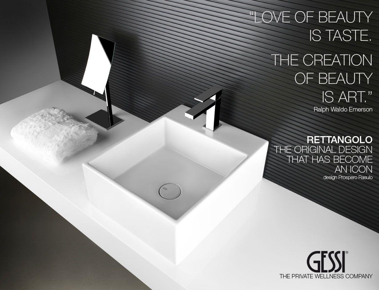 Designer Bathroom New Gessi Rettangolo Designer Bathroom Collection Tapware  Designs Design Inspiration