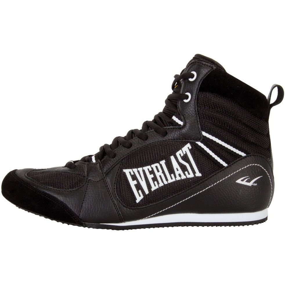 Competition Shoes Everlast Lo Pro Black Top Boxing N8wyv0mnO