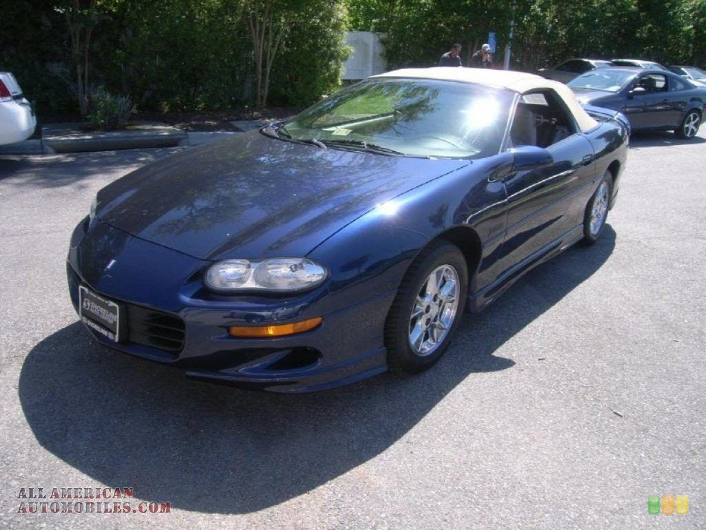 Image Detail For 2002 Chevrolet Camaro Z28 Convertible In Navy Blue Metallic 115623 Camaro Convertible Camaro Chevrolet Camaro
