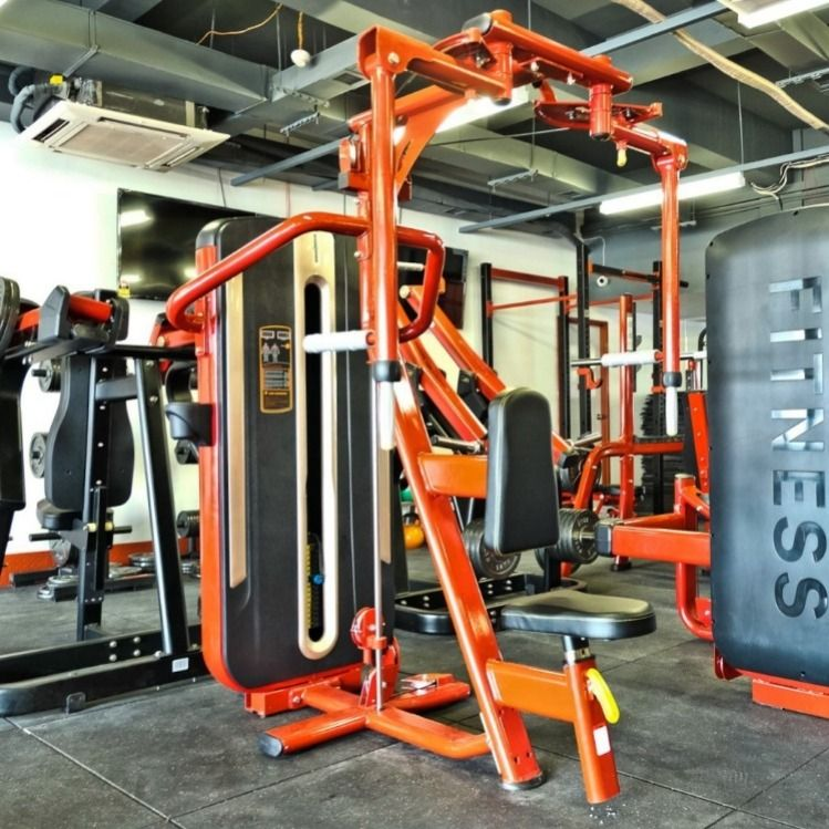 Beyond Fitness Centurion Pec Fly With Black Upholstery Commercial Gym Equipment At Home Gym Black Upholstery