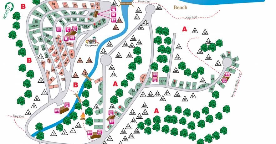 Campgrounds In Alabama Map on