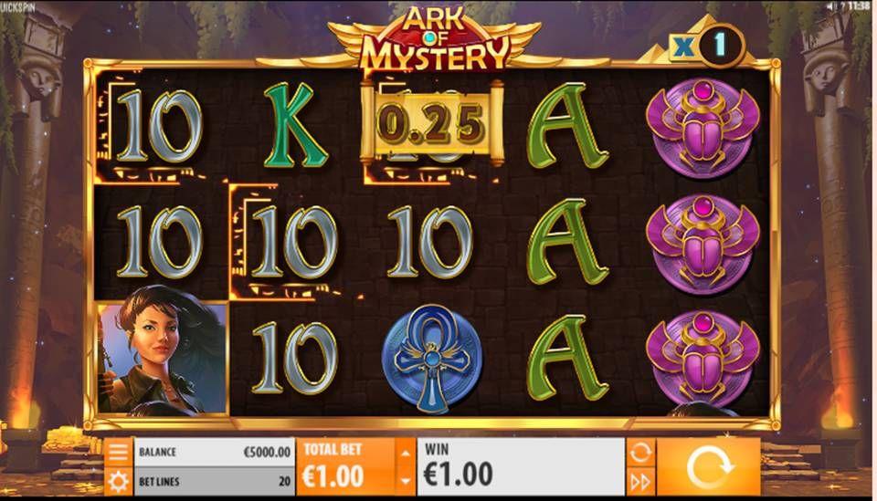 Mysteries Of Egypt Slot Machine