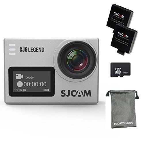 Sjcam Sj6 Legend 4k スポーツカメラ タッチ可能なバックドア 1 追加