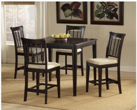 Counter height Bayberry #Dining #set in dark cherry for 689$