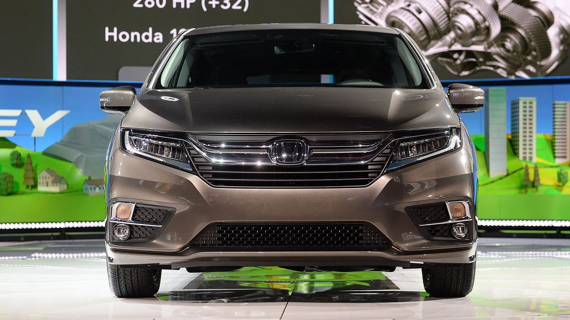 2018 Honda Odyssey Release Date Spy Shots Price Interior Pictures Exterior Redesign Touring Elite News Ratings