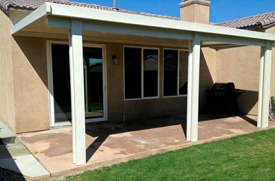 Simple Solid Alumawood Patio Cover For The Backyard Patio Images Patio Installation Lattice Patio