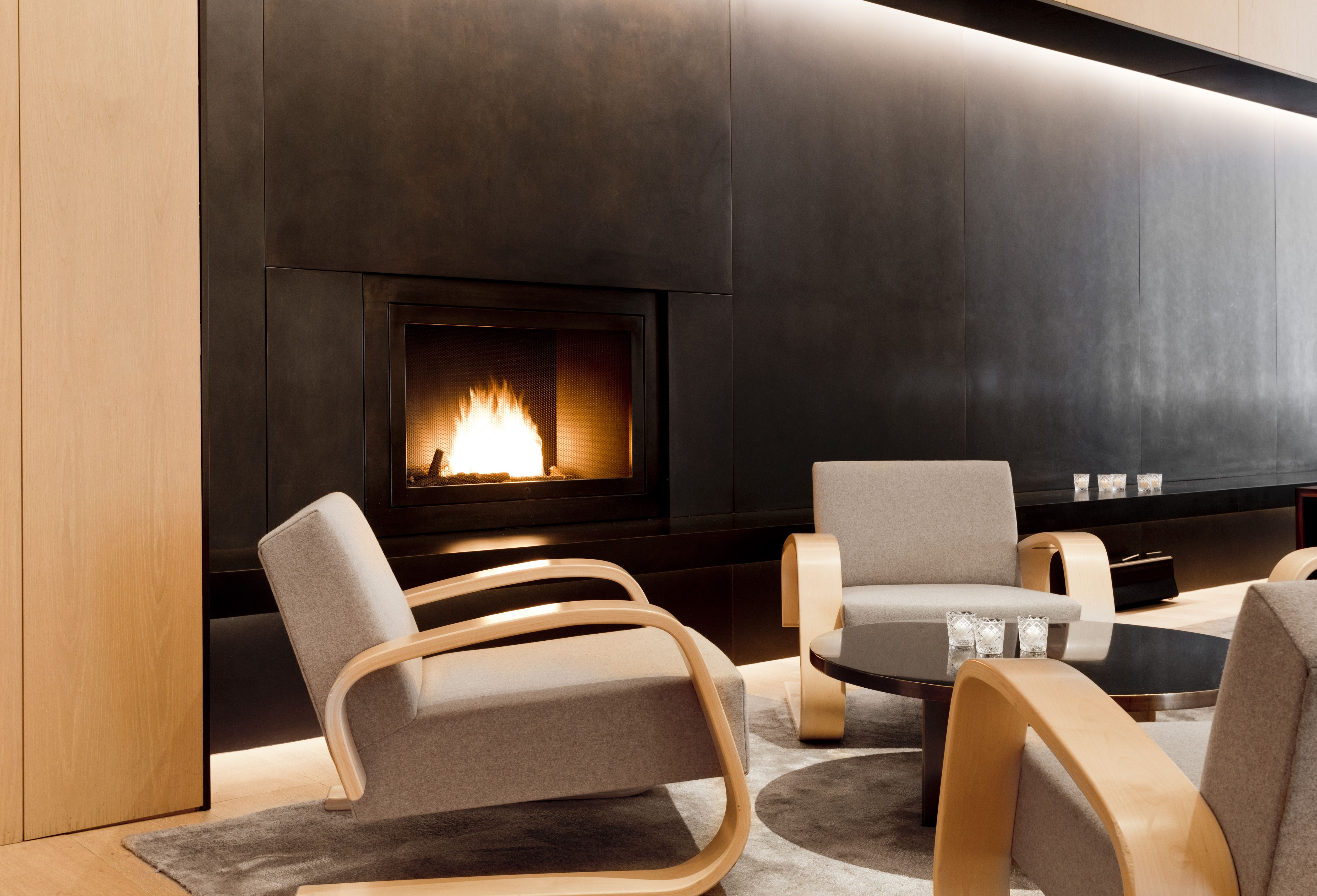Cozy Up To The Fireplace At This Upscale Hotel In New York City