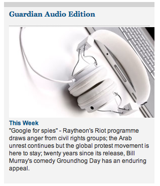 Are they or aren't they? iCans headphones feature on the Guardian Newspaper website. We think so.