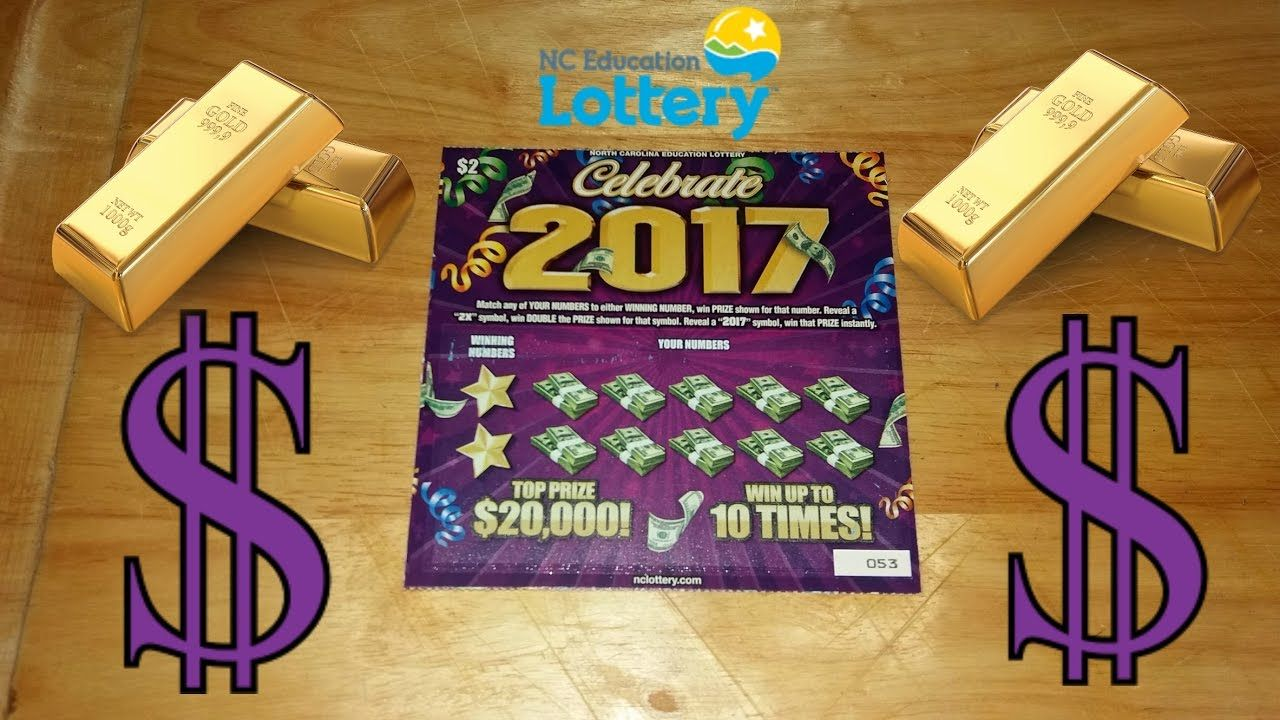New 20,000 🎉Celebrate 2017🎉 NC Lottery Ticket Lottery