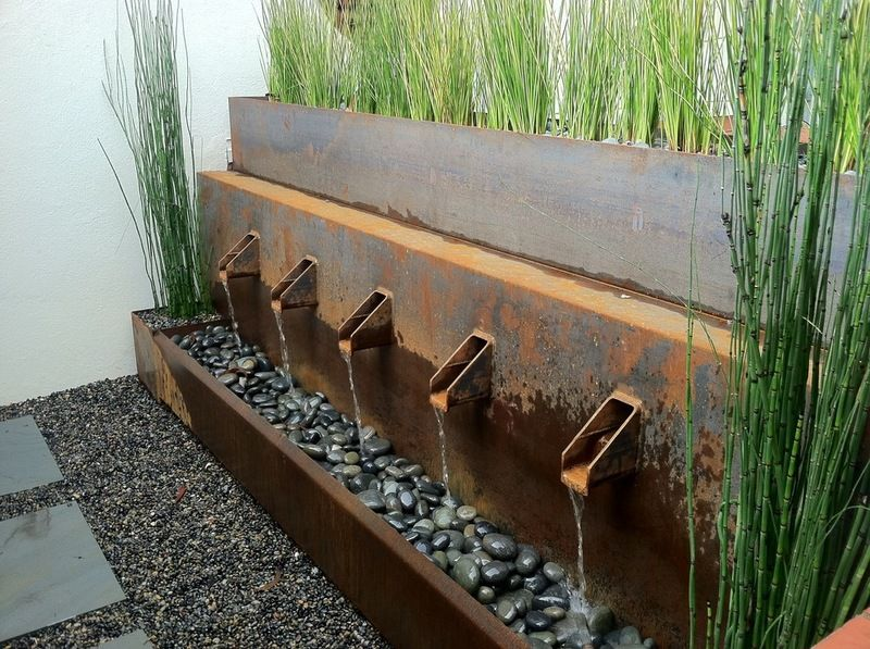 Interesting recirculating water feature water features for Recirculating water feature