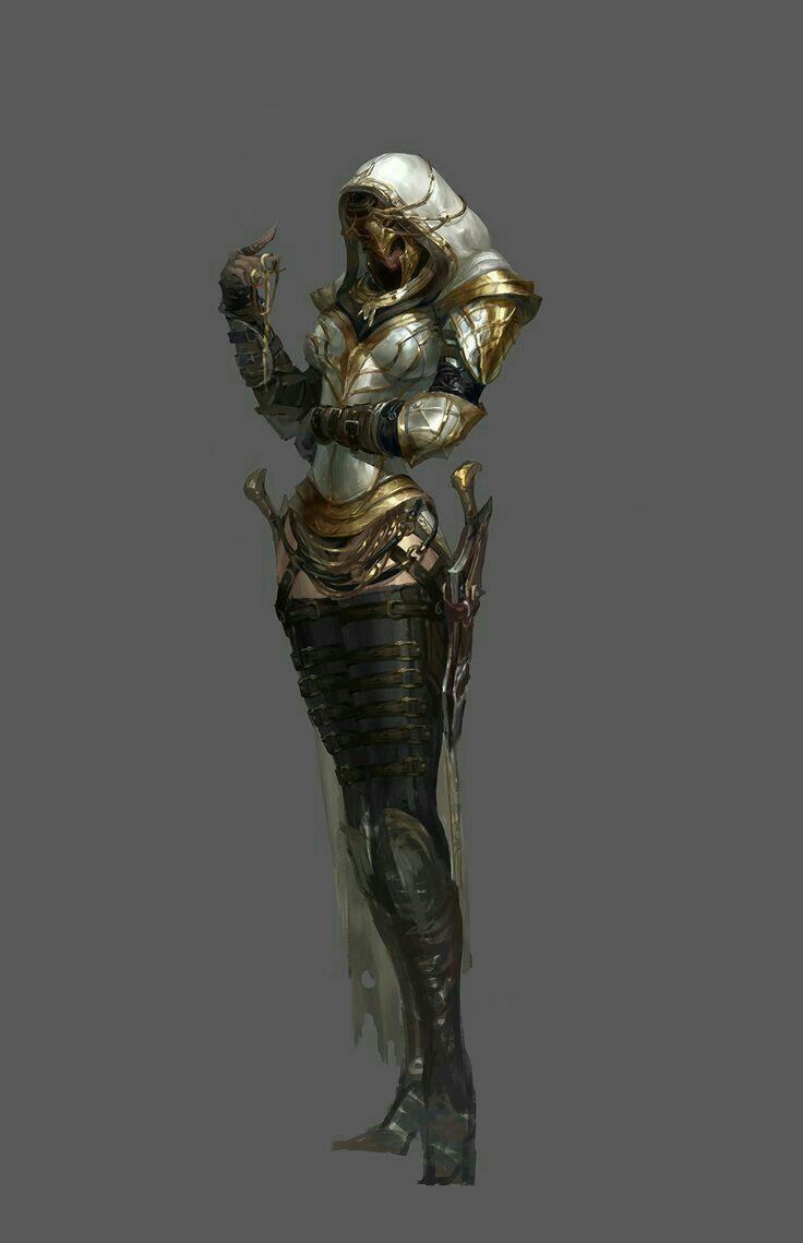 Female Slayer - Pathfinder PFRPG DND D&D d20 fantasy ...