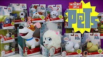 The Secret Life Of Pets Toy Video Mini Figurine Pets Walmart Exclusive Mel Max Gidget Snowball Youtube Secret Life Of Pets Mini Figurine Pet Toys
