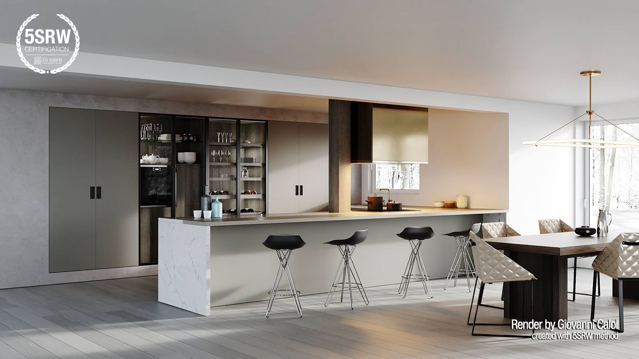 Minimal Kitchen Giovanni Caloi With 5srw Kitchen Sets Home