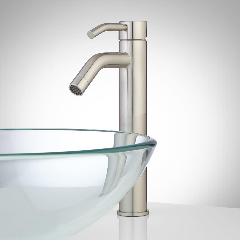 Sherrod Single-Hole Vessel Faucet | Vessel faucets, Faucet and ...