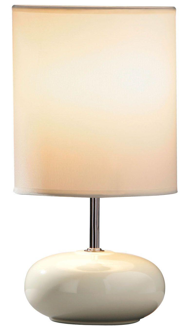 Cream ceramic pebble lamp.  http://www.worldstores.co.uk/p/Cream_Ceramic_Pebble_Table_Lamp.htm