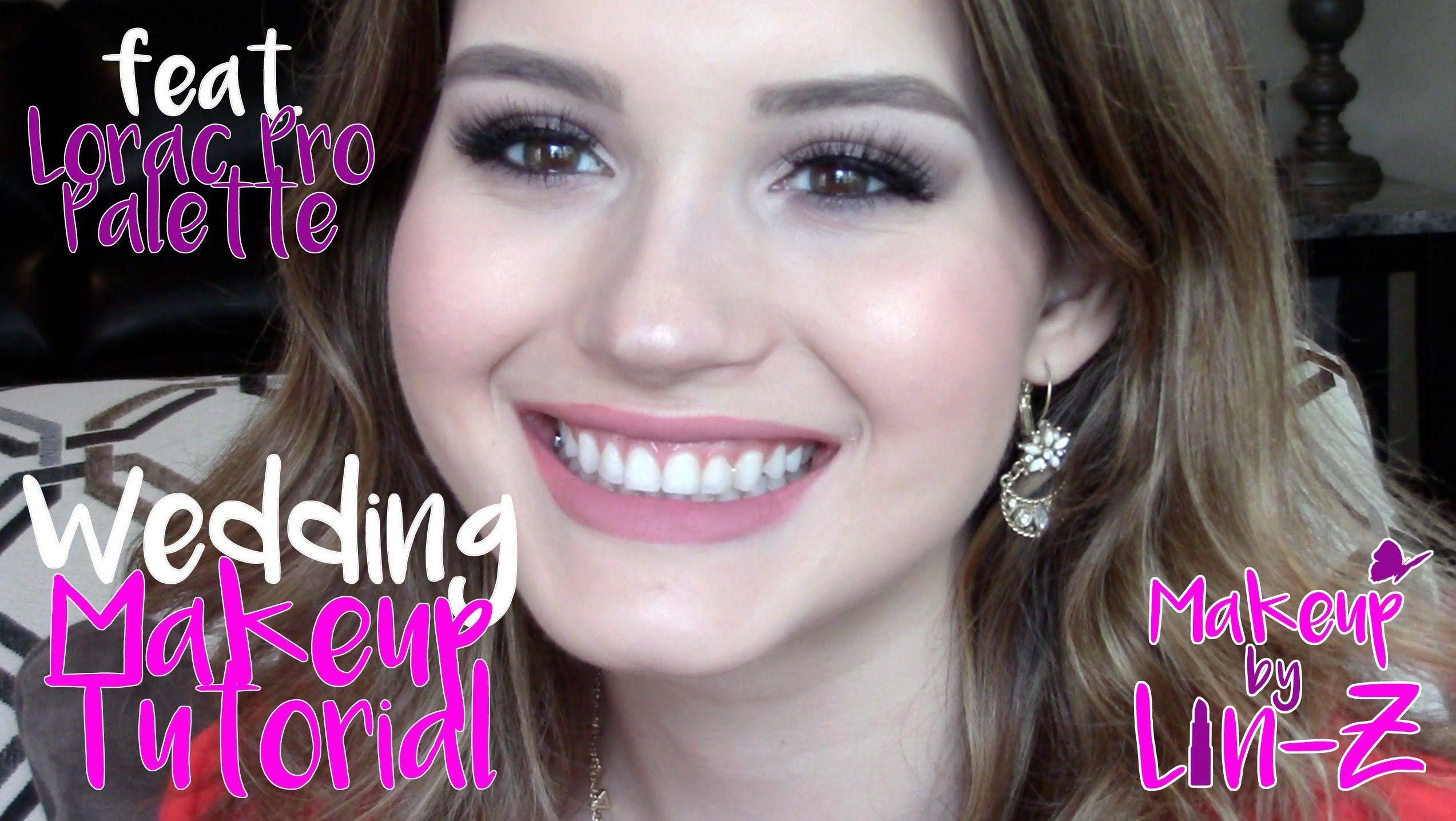 Glam Wedding Makeup Tutorial Lorac Pro Palette Soft