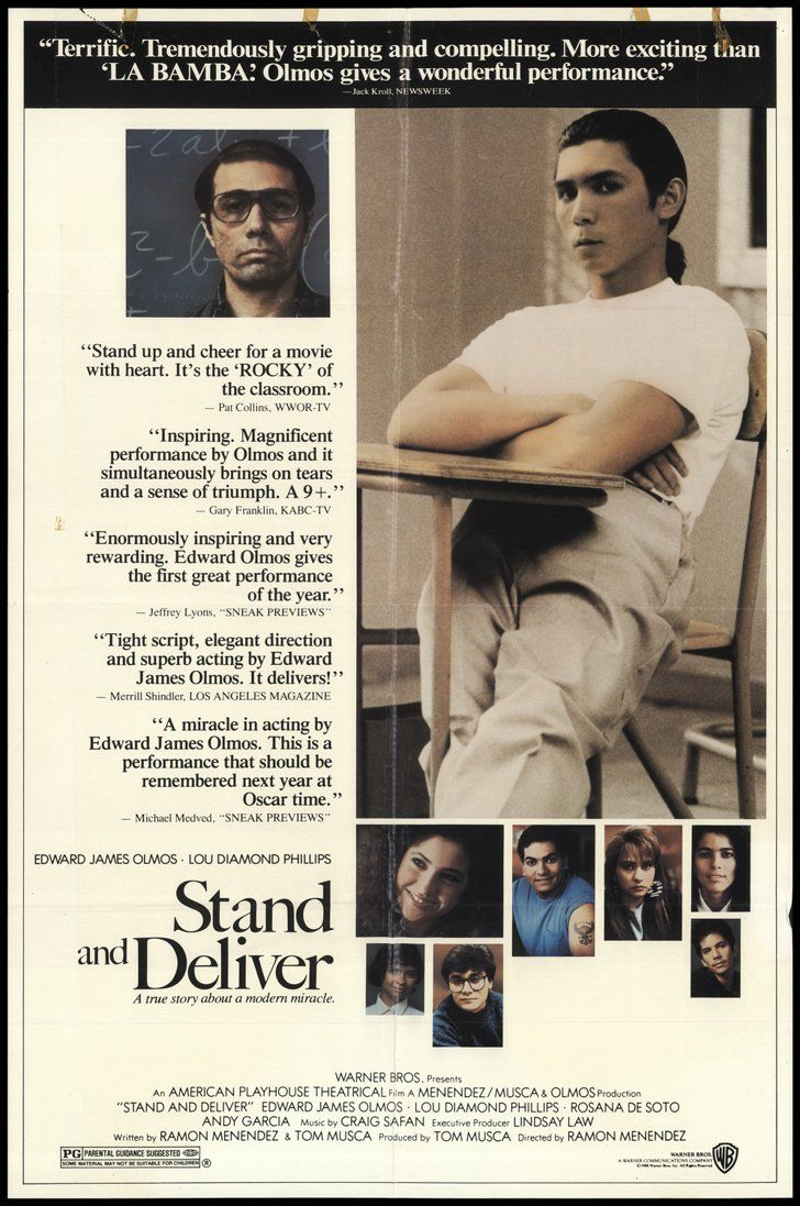 Stand And Deliver Stand And Deliver Inspirational Movies Musical Movies