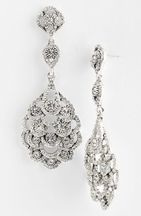 Eiffel Statement Drop Earrings Drop earrings Crushes and Drop