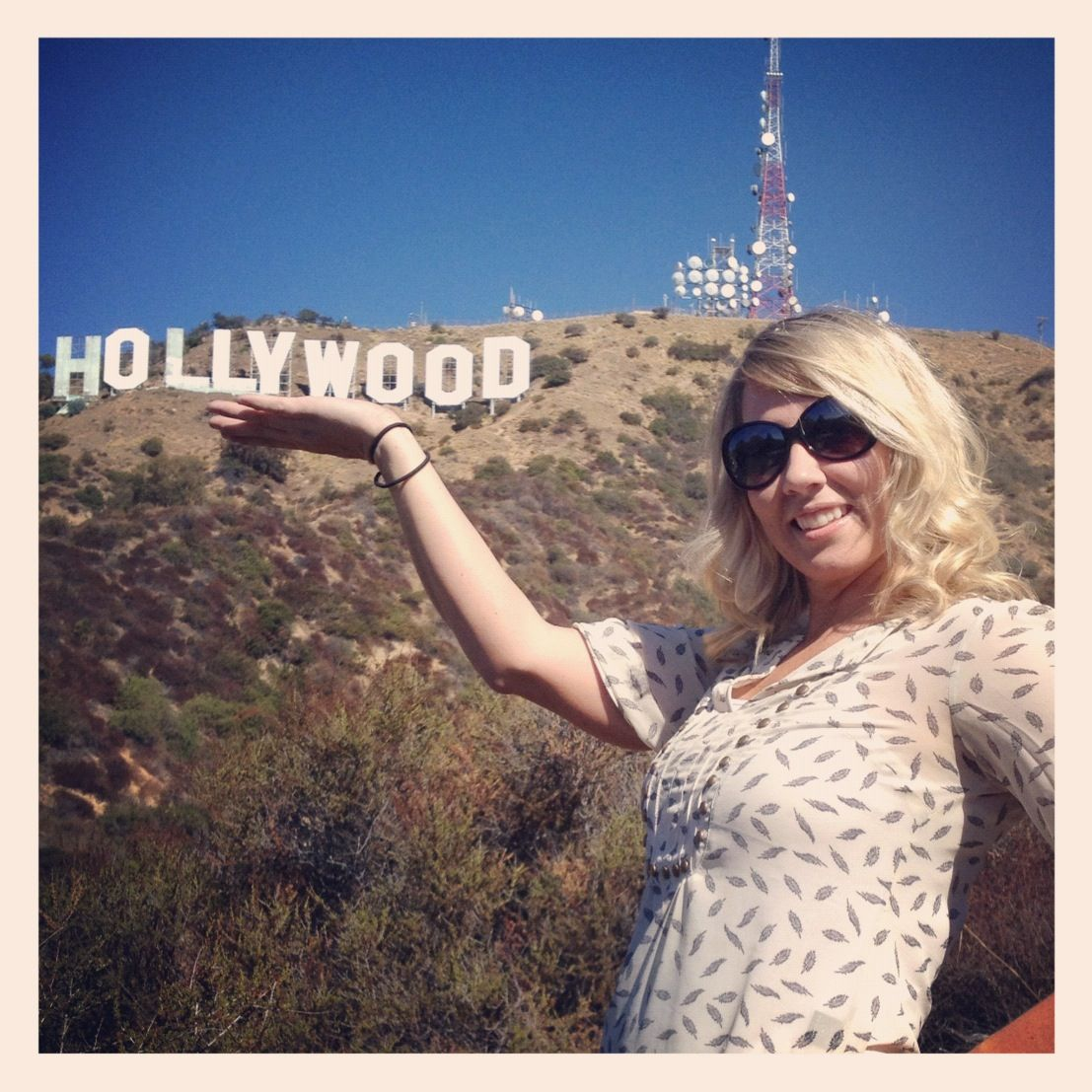 Day A: Hollywood sign! Put: 3101 Canyon Lake Dr Los Angeles, CA 90068 in your GPS and you will get to a hill with parking where you get that view