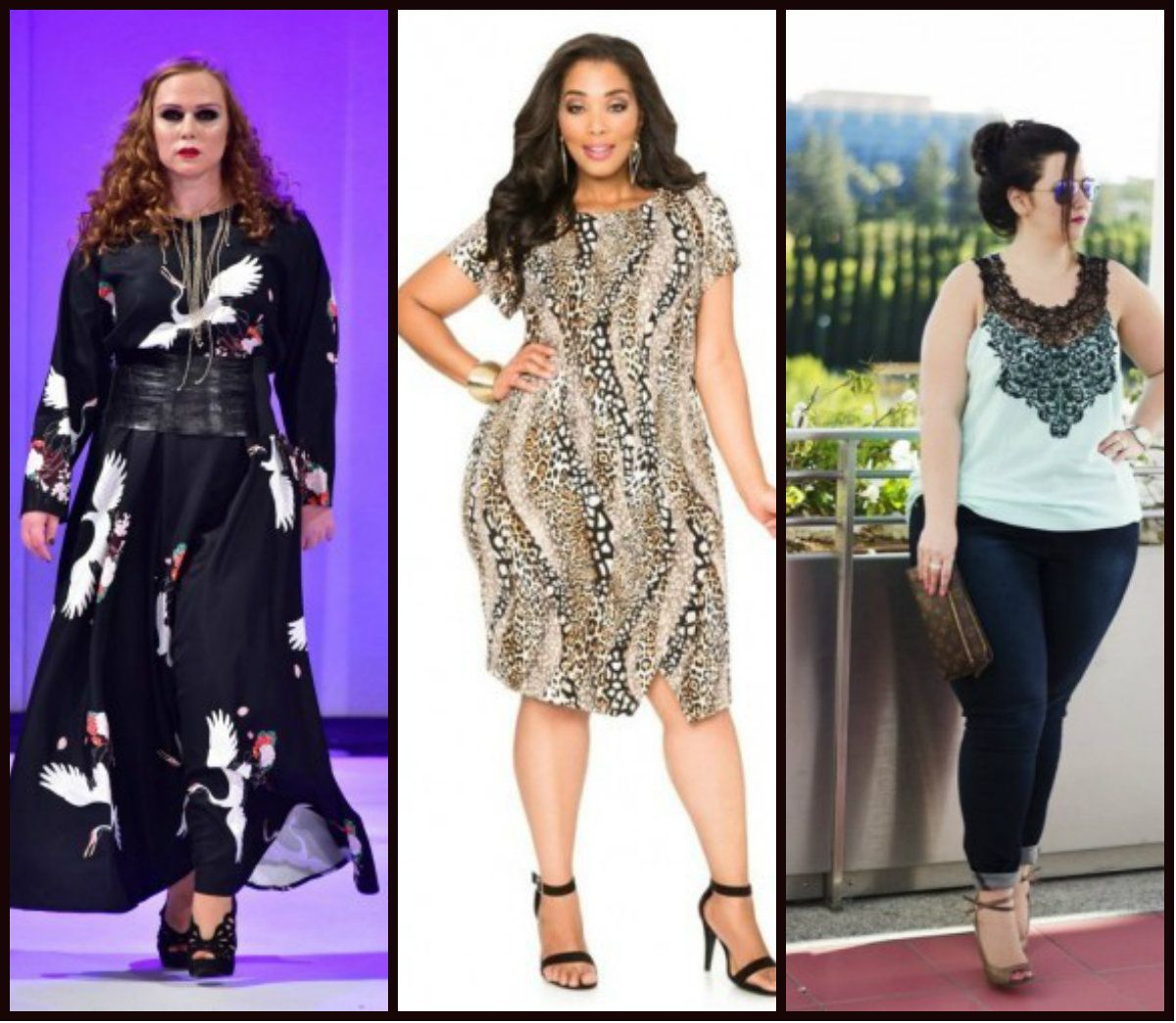 fb0ca50522 Fashion for plus size women spring-summer 2016 is full of a variety of  interesting solutions