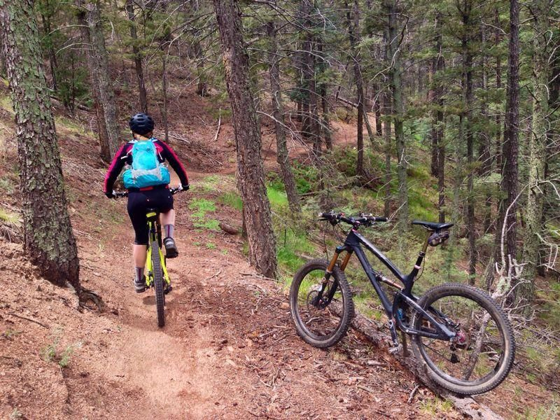 Mountain Bike Trails In Colorado Springs