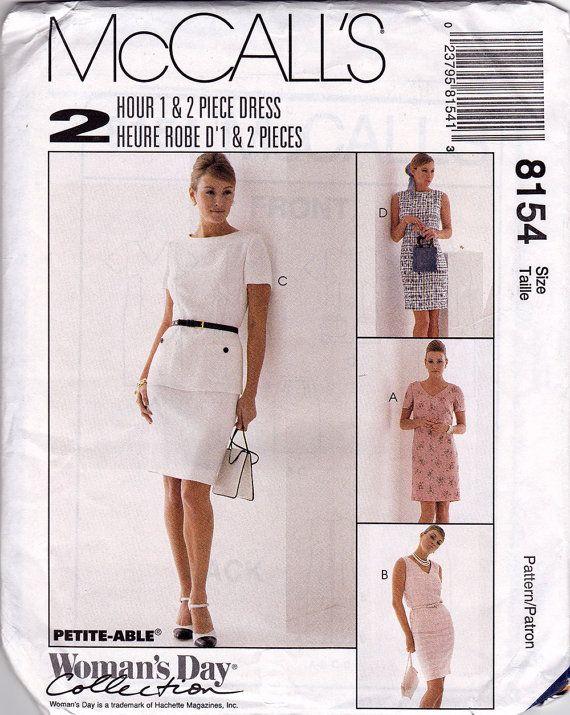857d33c7c9cd Misses Dress Pattern Womens Dress Sewing Pattern by ZipZapKap ...