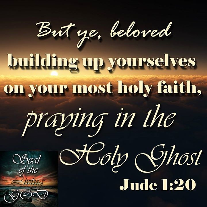 Praying In The Holy Ghost | Holy ghost, Bible and Verses