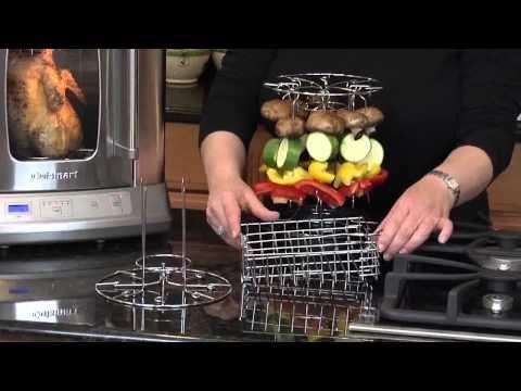 Cuisinart Cvr 1000 Vertical Rotisserie Oven Youtube Rotisserie