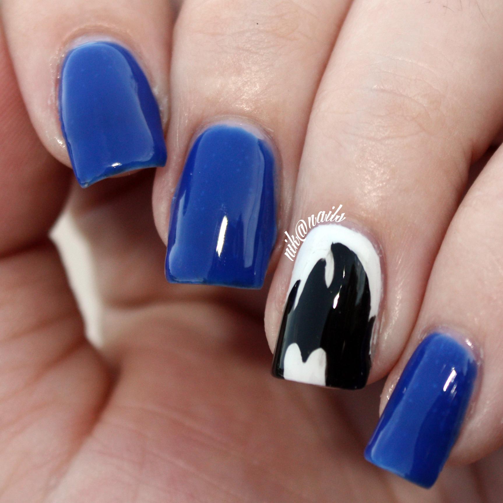 Vegeta Nails