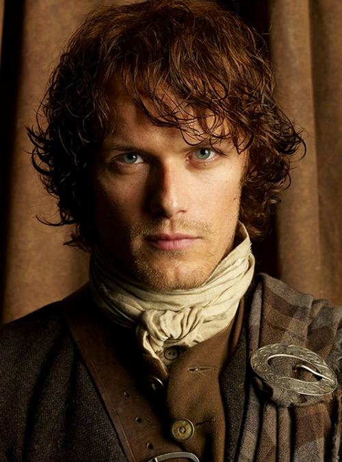 Outlander Jamie Fraser (Sam Heughan)  ............................................. | Outlander jamie, Jamie  fraser outlander, Jamie fraser