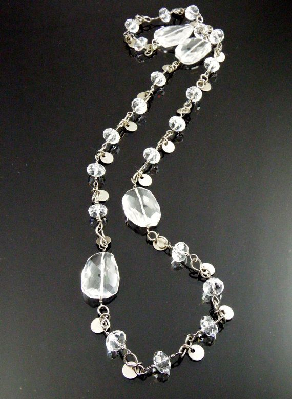 An Extraordinary Necklace made with Swarovski by looksgoodonya - Equipment Bill Of Sale