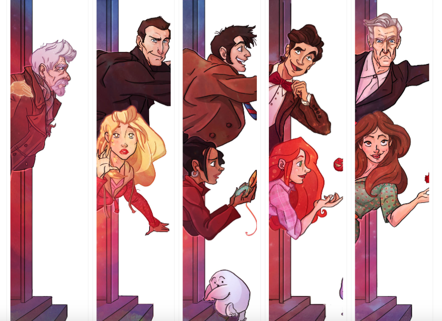 Finally Finished My Doctor Who Illustration Series #12doctor