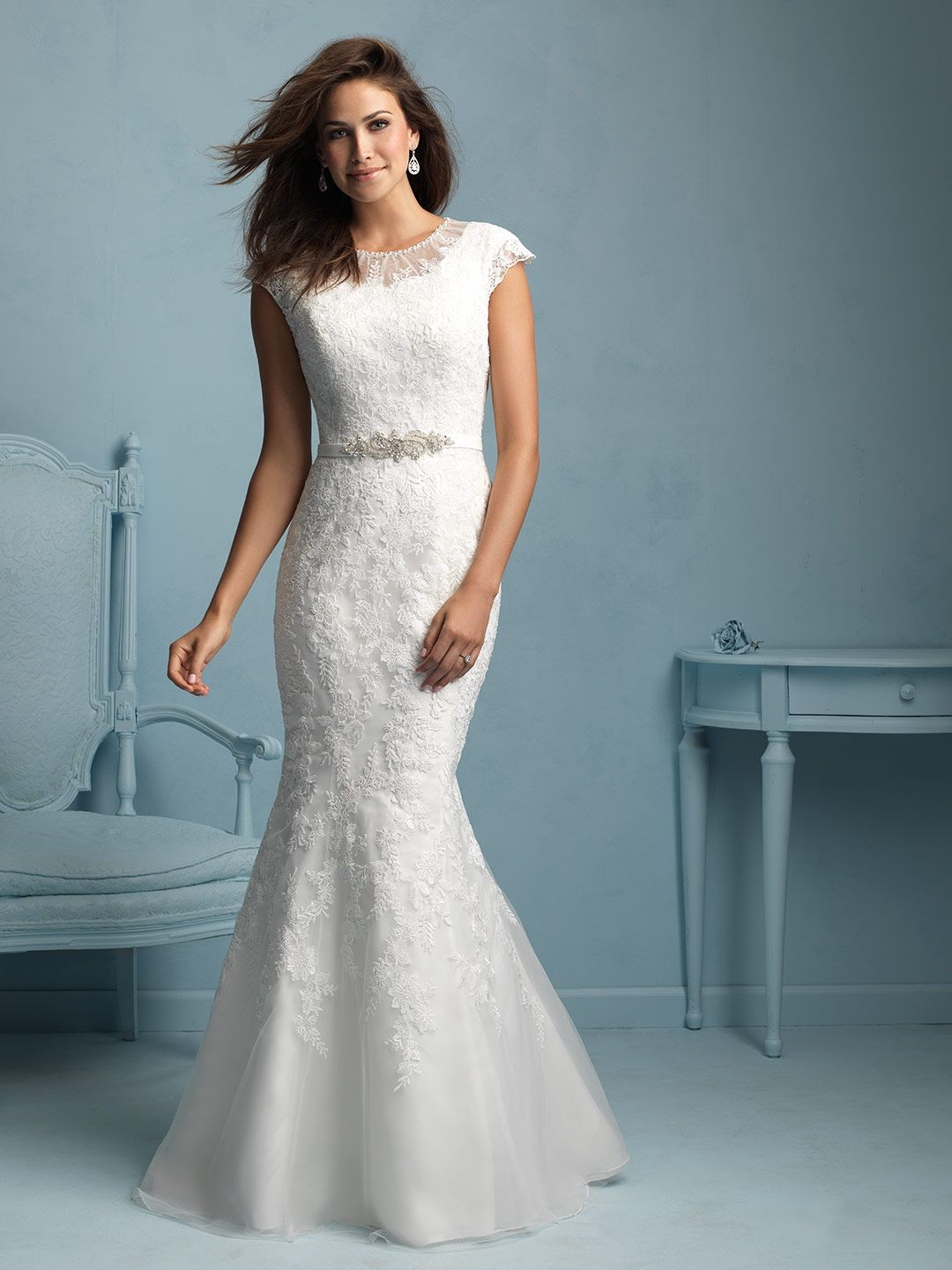 'Olympia' (With images) Modest bridal gowns, Modest