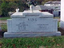 Rev Martin Luther King Sr And His Wife Alberta Christine Williams
