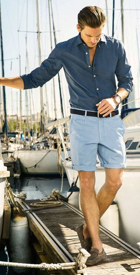 Mens Fashion What Shoes To Wear With Shorts