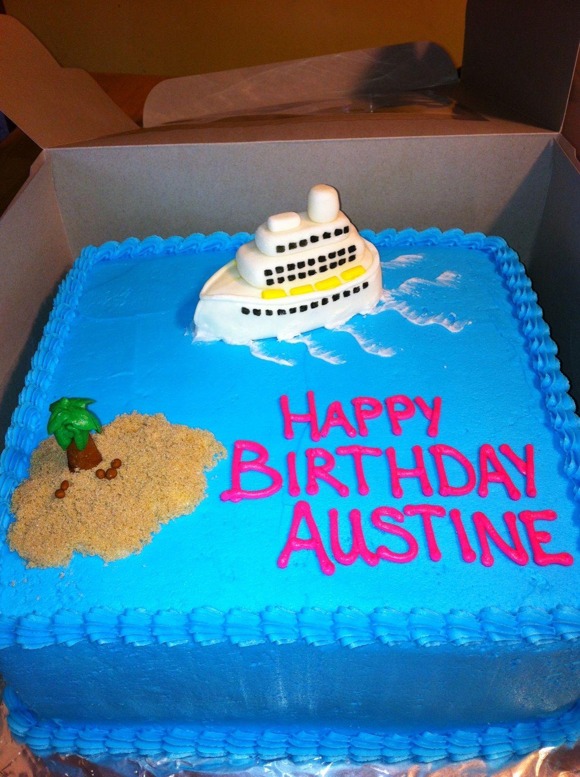 cruise ship birthday Cookery Pinterest Cruise ships Birthdays
