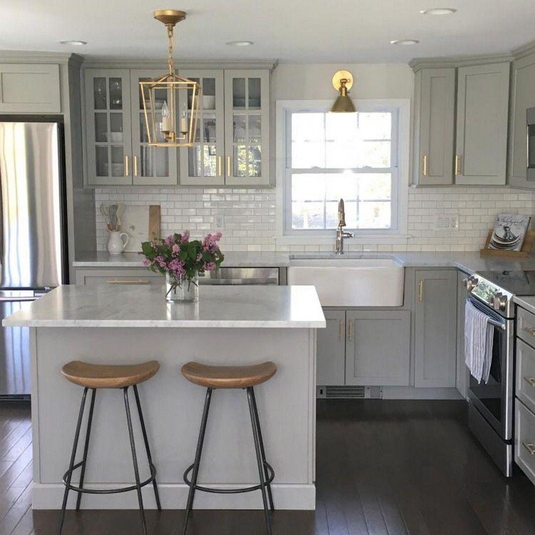 Generating Beautiful Farmhouse Chic Kitchen To Maximize Your Kitchen Look Umbau Kleiner Kuche Kuchendesign Und Kuchenrenovierung