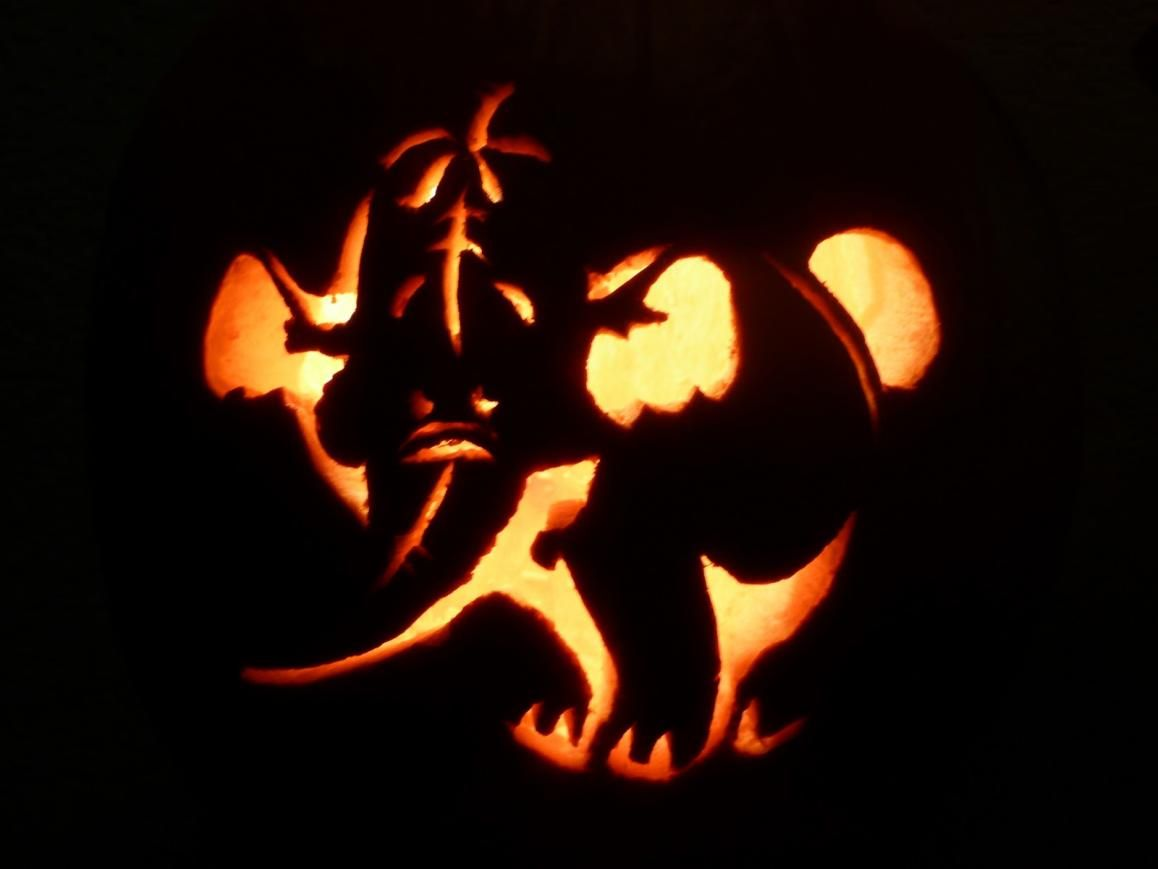 Elephant pumpkin gift giving holiday festivities and for How to carve an elephant on a pumpkin